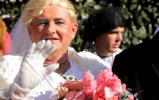 Karneval Braut Istrien