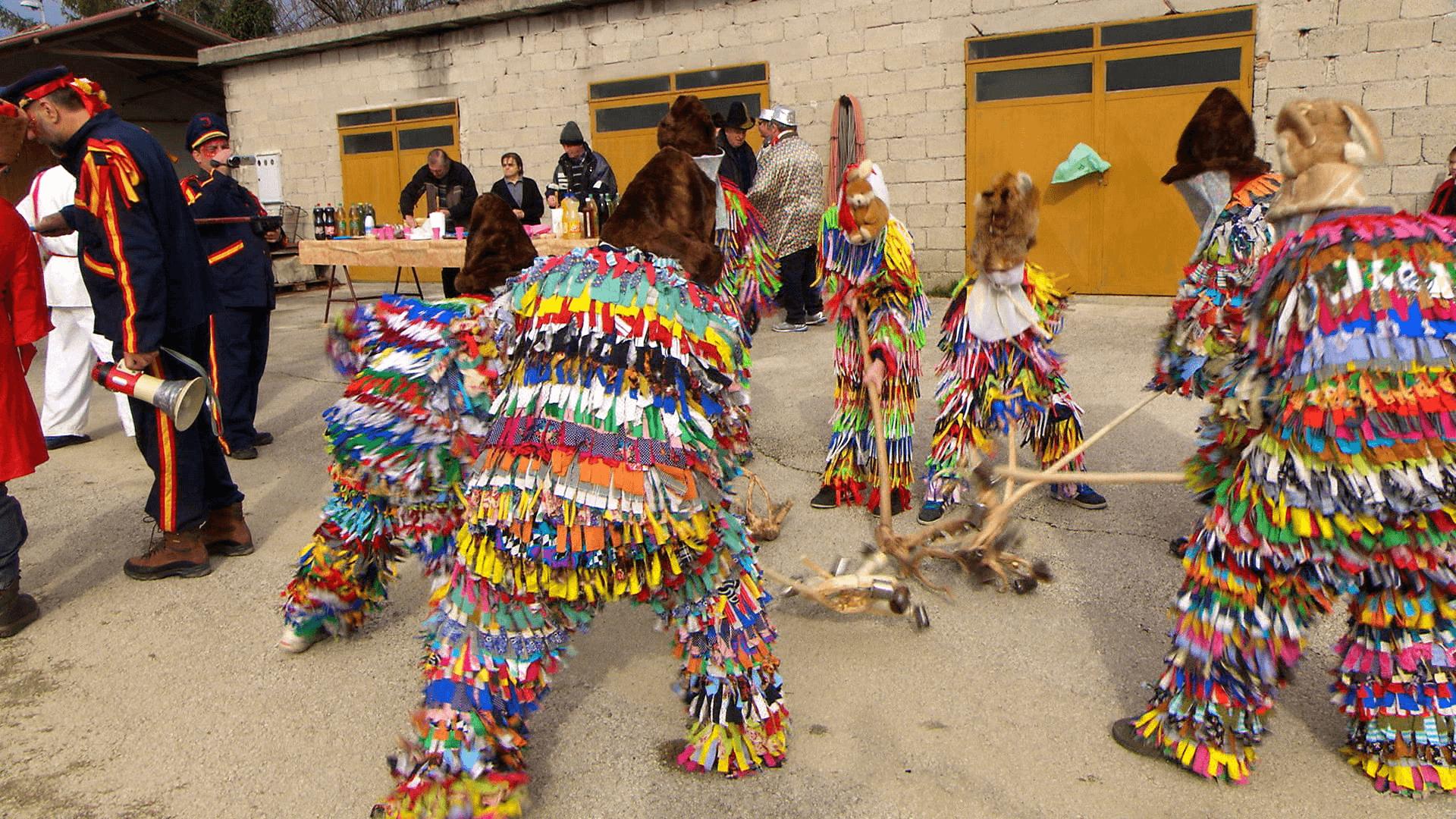 Schellentruppe Karnevalsumzug