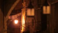 Straßen nachts in Rovinj