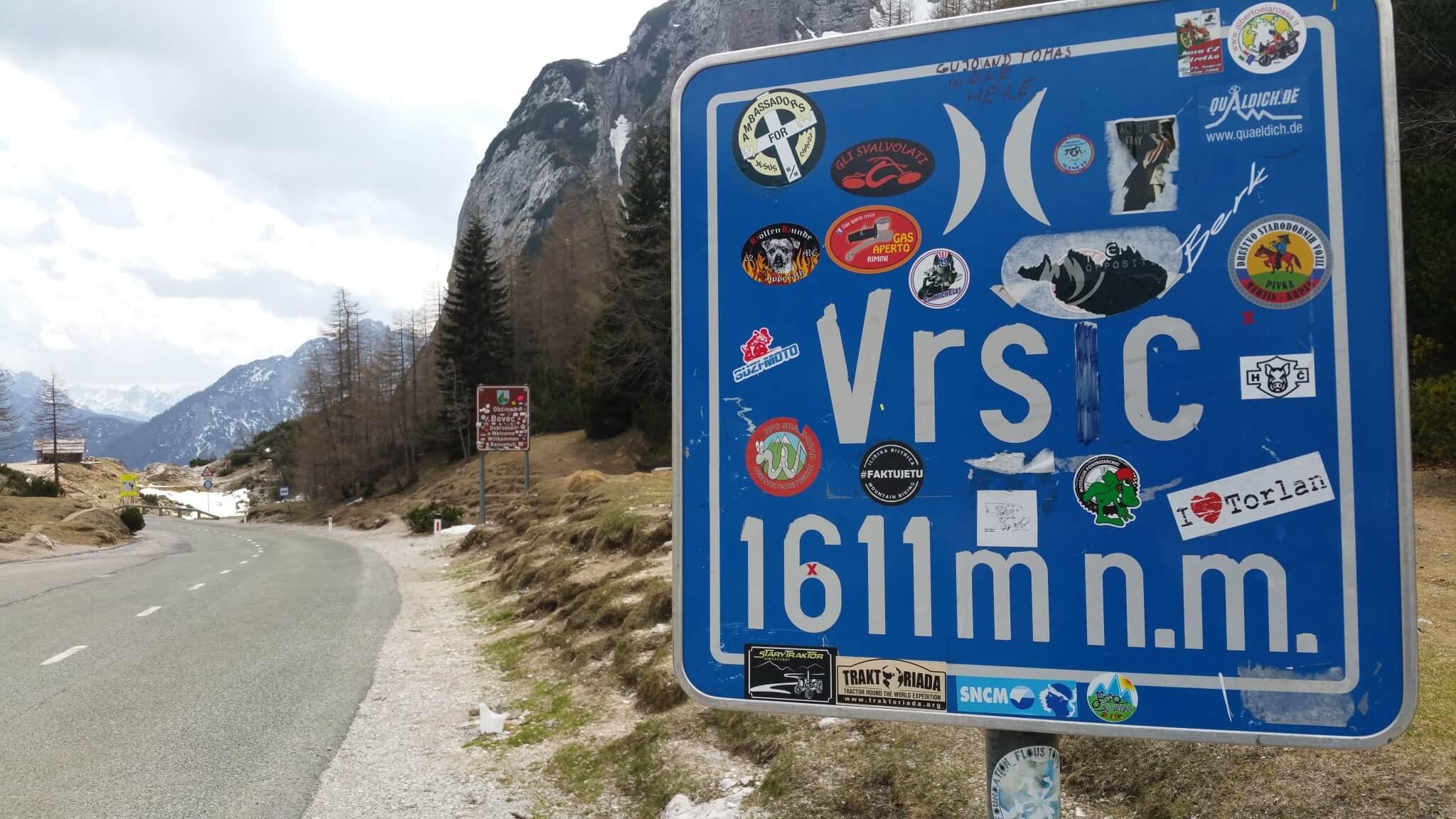 Julische Alpen Schild