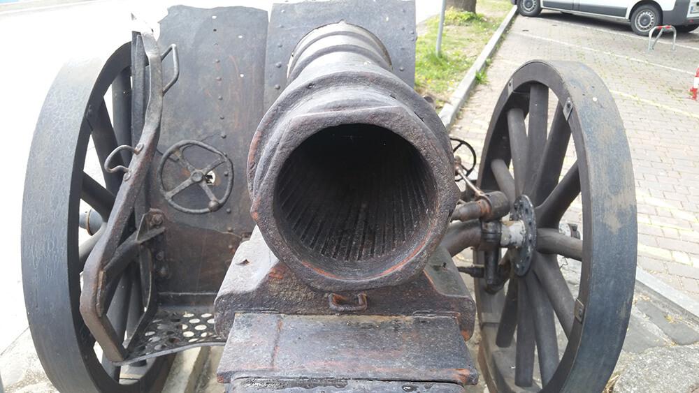 Kanone in Tolmin