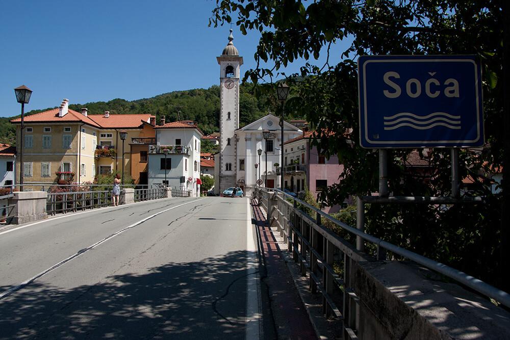 Soca Brücke