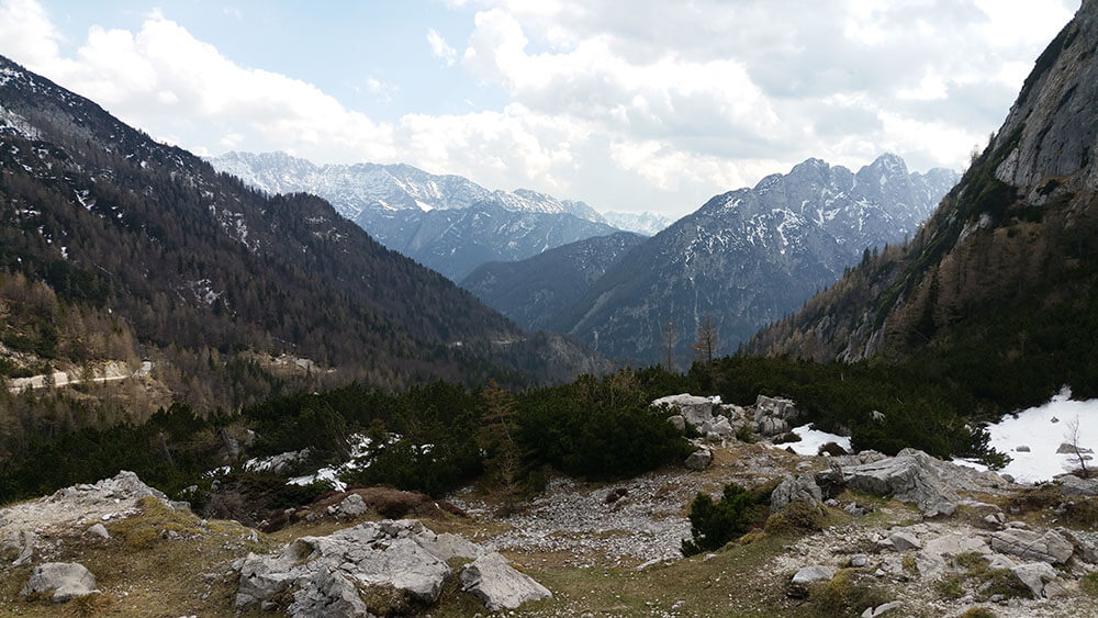 Julische Alpen Panorama