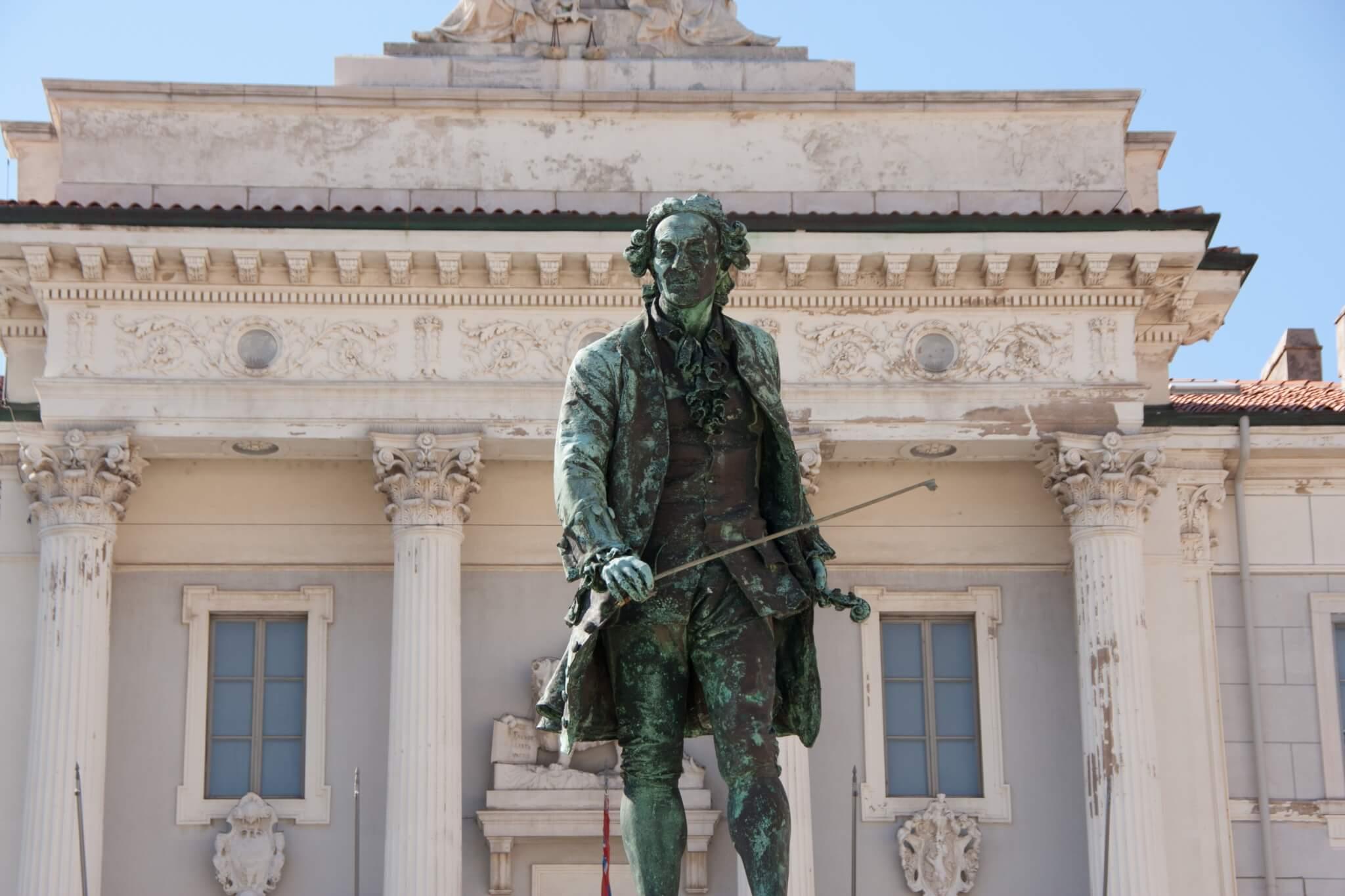 Denkmal Giuseppe Tartini