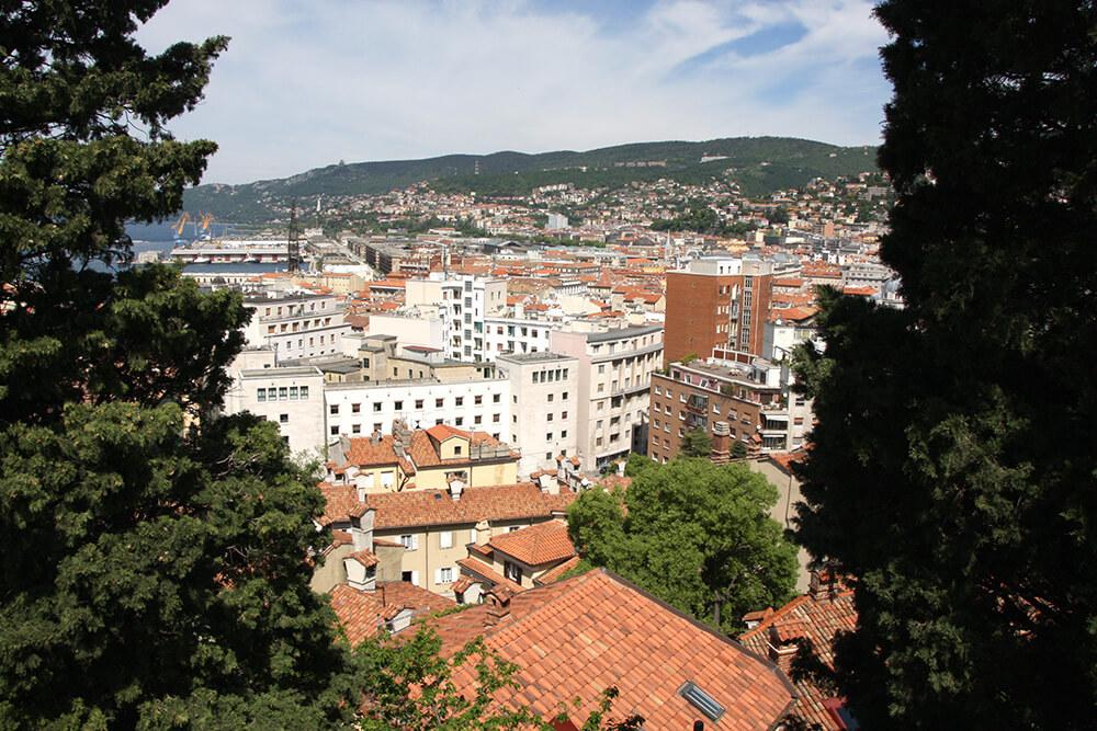 Trieste von oben