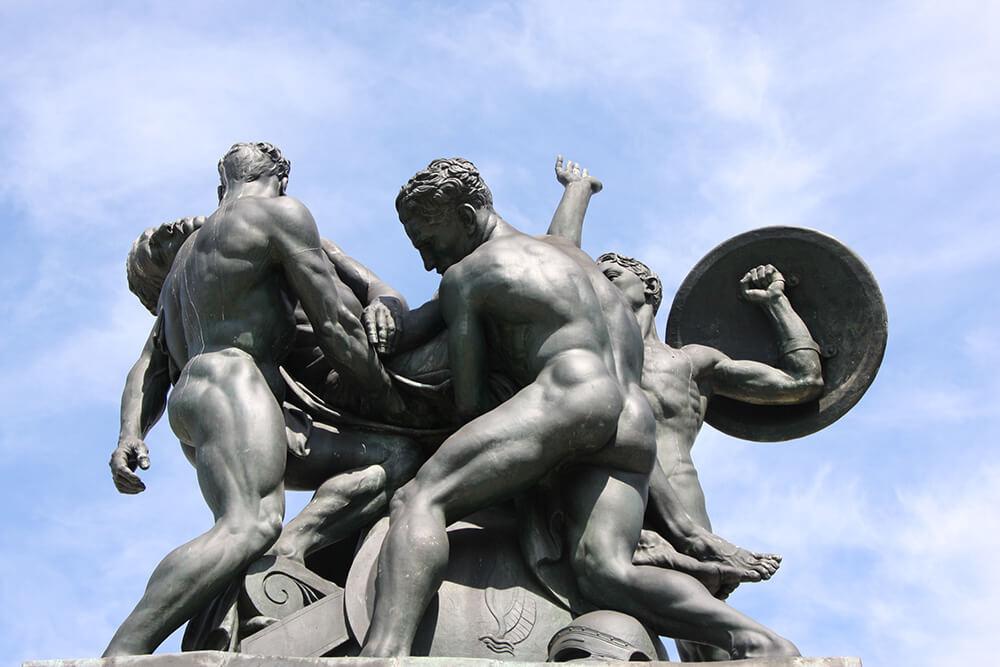 Statue Trieste