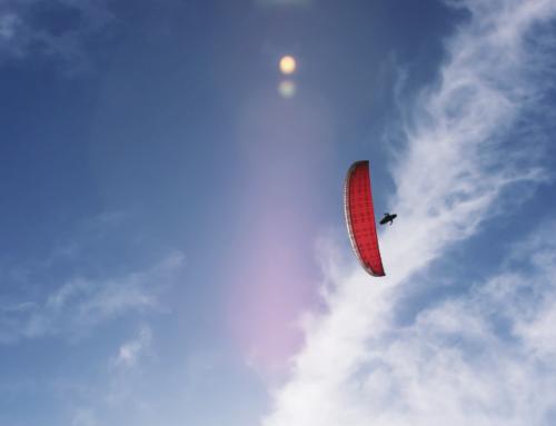 Paragliding in Istrien