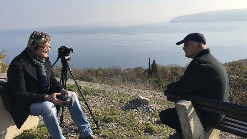 Zdenko Velcic - Künstler aus Kroatien mit Lars Bastian