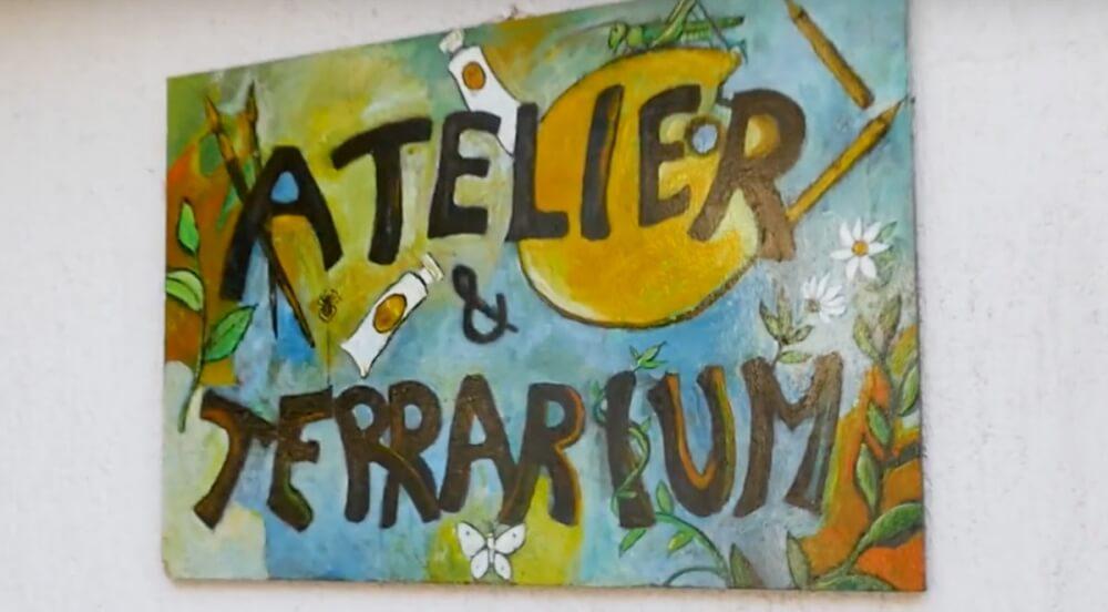 Atelier und Terrarium in Golovik bei Brsec